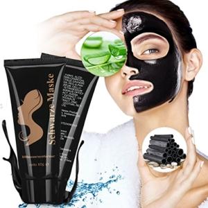Black Mask, Schwarze Maske Gegen Mitesser,Schwarze Gesichtsmaske, Deep Clean Blackhead Maske Mitesser Entfernung, Blackhead Peel Off Maske,Black Off Maske, Mitesser Maske Mitesser Entferner -
