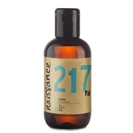 Naissance kaltgepresstes Rizinusöl (Nr. 217) 100ml - reines, natürliches, veganes, hexanfreies, gentechnikfreies Öl - pflegt und spendet Feuchtigkeit für Haare, Wimpern und Augenbrauen - 1