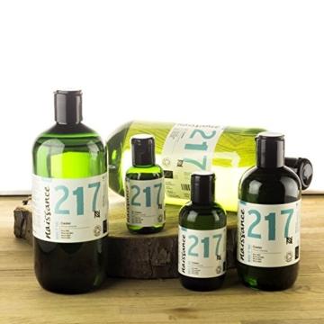Naissance Rizinusöl BIO (Nr. 217) 100ml - reines, natürliches, BIO zertifiziertes, kaltgepresstes, veganes, hexanfreies, gentechnikfreies Öl - pflegt und spendet Feuchtigkeit für Haare, Wimpern und Augenbrauen - 4